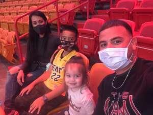 ZB attended Miami Heat vs. Charlotte Hornets - NBA on Oct 11th 2021 via VetTix