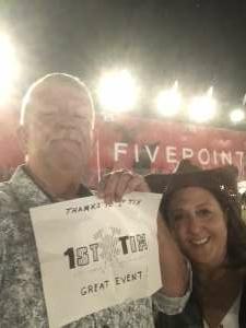 Brian T. attended Brad Paisley Tour 2021 on Oct 9th 2021 via VetTix