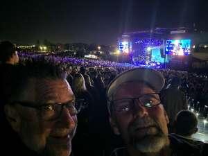 Harvey attended Brad Paisley Tour 2021 on Oct 9th 2021 via VetTix