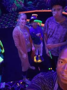 JE attended Fatcats Glow Golf on Oct 8th 2021 via VetTix