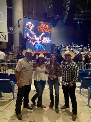 Ramon Contreras attended Brad Paisley Tour 2021 on Oct 8th 2021 via VetTix