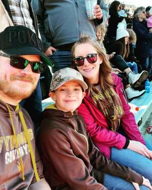 Aaron H. attended University of Wyoming Cowboys vs. Fresno State - NCAA Football on Oct 16th 2021 via VetTix