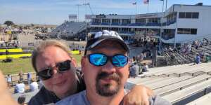 Noah attended Stampede of Speed - Texas NHRA Fall Nationals on Oct 8th 2021 via VetTix