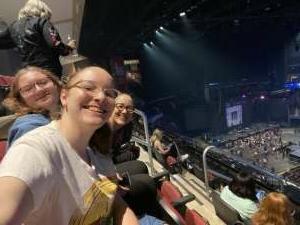 Kim attended Dan + Shay the (arena) Tour on Oct 17th 2021 via VetTix