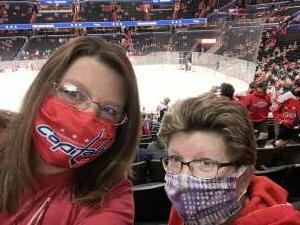 Kathy W attended Washington Capitals vs. Colorado Avalanche - NHL on Oct 19th 2021 via VetTix