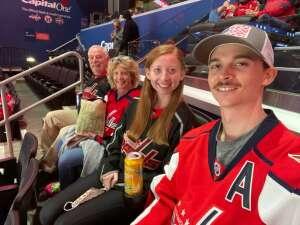 David Conrad  attended Washington Capitals vs. Colorado Avalanche - NHL on Oct 19th 2021 via VetTix