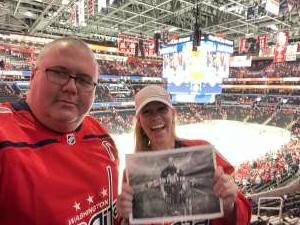 Will C.  attended Washington Capitals vs. Colorado Avalanche - NHL on Oct 19th 2021 via VetTix