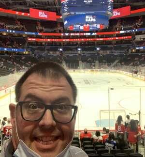 Ty B. attended Washington Capitals vs. Colorado Avalanche - NHL on Oct 19th 2021 via VetTix