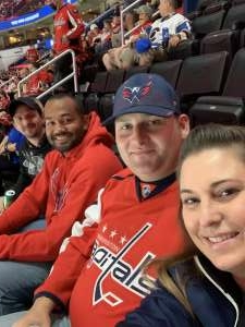Chris  attended Washington Capitals vs. Colorado Avalanche - NHL on Oct 19th 2021 via VetTix