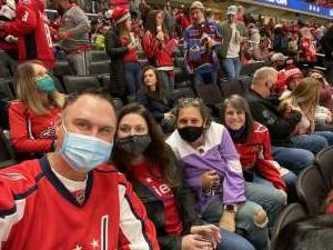 Rich attended Washington Capitals vs. Colorado Avalanche - NHL on Oct 19th 2021 via VetTix