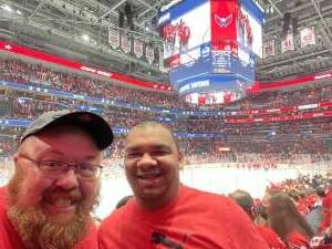 Big Milk attended Washington Capitals vs. Colorado Avalanche - NHL on Oct 19th 2021 via VetTix
