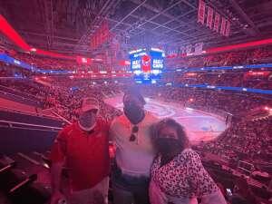 AK attended Washington Capitals vs. Colorado Avalanche - NHL on Oct 19th 2021 via VetTix