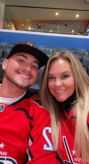 Tara attended Washington Capitals vs. Tampa Bay Lightning - NHL on Oct 16th 2021 via VetTix