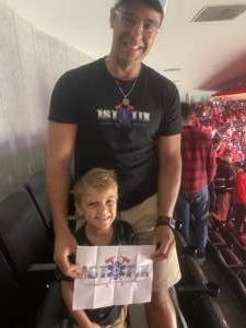 Helton Pereira attended Washington Capitals vs. Tampa Bay Lightning - NHL on Oct 16th 2021 via VetTix