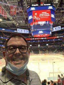 Ty B. attended Washington Capitals vs. Tampa Bay Lightning - NHL on Oct 16th 2021 via VetTix