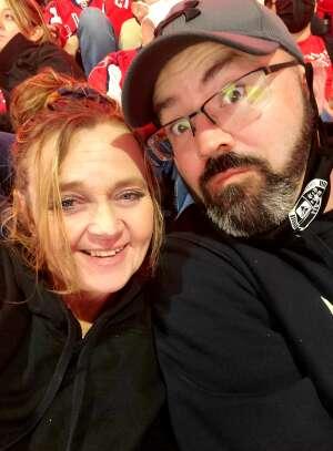 Marsha attended Washington Capitals vs. Tampa Bay Lightning - NHL on Oct 16th 2021 via VetTix