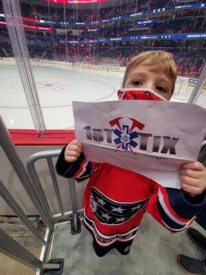 Randy H. attended Washington Capitals vs. Tampa Bay Lightning - NHL on Oct 16th 2021 via VetTix
