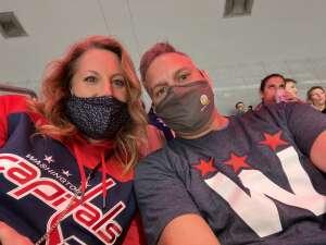 Dave attended Washington Capitals vs. Tampa Bay Lightning - NHL on Oct 16th 2021 via VetTix