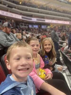 Justin attended Arizona Coyotes vs. St. Louis Blues on Oct 18th 2021 via VetTix