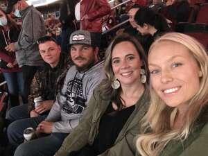 Kk attended Arizona Coyotes vs. St. Louis Blues on Oct 18th 2021 via VetTix
