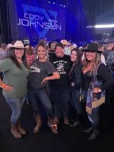 Scott attended Cody Johnson on Oct 8th 2021 via VetTix