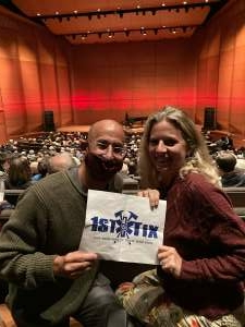 Janet S. attended Opening Night: Road to Romanticism on Oct 19th 2021 via VetTix