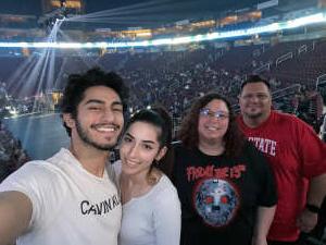 Tony P. attended Jurassic Fight Night on Oct 9th 2021 via VetTix