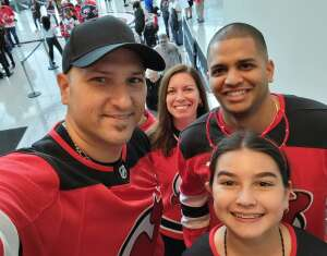Mike attended New Jersey Devils vs. Chicago Blackhawks - NHL on Oct 15th 2021 via VetTix