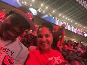 Lonnie attended New Jersey Devils vs. Chicago Blackhawks - NHL on Oct 15th 2021 via VetTix