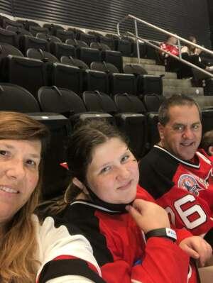 Tony Simonelli attended New Jersey Devils vs. Chicago Blackhawks - NHL on Oct 15th 2021 via VetTix
