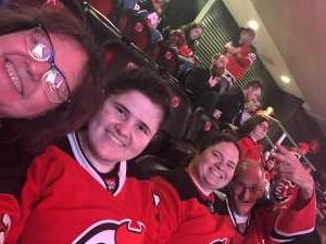 Theresa  attended New Jersey Devils vs. Chicago Blackhawks - NHL on Oct 15th 2021 via VetTix