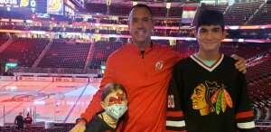 Hoagland Crew  attended New Jersey Devils vs. Chicago Blackhawks - NHL on Oct 15th 2021 via VetTix