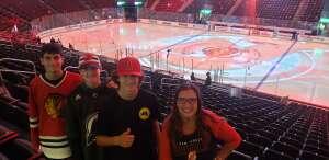 Laura attended New Jersey Devils vs. Chicago Blackhawks - NHL on Oct 15th 2021 via VetTix