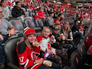 Carolyn attended New Jersey Devils vs. Chicago Blackhawks - NHL on Oct 15th 2021 via VetTix