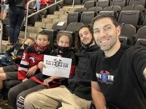 Brian attended New Jersey Devils vs. Chicago Blackhawks - NHL on Oct 15th 2021 via VetTix