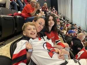 James attended New Jersey Devils vs. Chicago Blackhawks - NHL on Oct 15th 2021 via VetTix