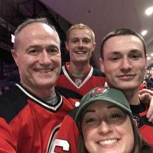 Brendan attended New Jersey Devils vs. Chicago Blackhawks - NHL on Oct 15th 2021 via VetTix