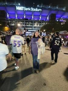 John attended Baltimore Ravens vs. Indianapolis Colts - NFL on Oct 11th 2021 via VetTix