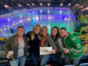 Becky attended Florida Everblades vs. Orlando Solar Bears - ECHL on Oct 16th 2021 via VetTix