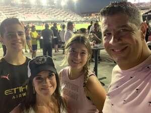 Carlos attended Inter Miami CF vs. Toronto FC - MLS on Oct 20th 2021 via VetTix