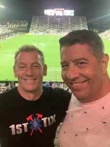 Randy attended Inter Miami CF vs. Toronto FC - MLS on Oct 20th 2021 via VetTix