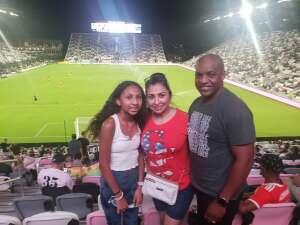 Eddie  attended Inter Miami CF vs. Toronto FC - MLS on Oct 20th 2021 via VetTix