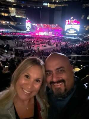 Noe B attended The Rolling Stones - No Filter 2021 on Oct 14th 2021 via VetTix