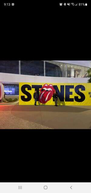 JH attended The Rolling Stones - No Filter 2021 on Oct 14th 2021 via VetTix