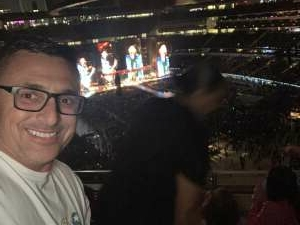 Anthony E attended The Rolling Stones - No Filter 2021 on Oct 14th 2021 via VetTix