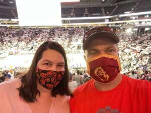 John H attended Phoenix Mercury vs. Chicago Sky - 2021 WNBA Finals Game 1 on Oct 10th 2021 via VetTix