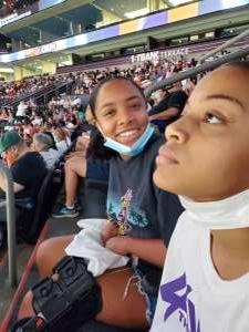 Rochelle attended Phoenix Mercury vs. Chicago Sky - 2021 WNBA Finals Game 1 on Oct 10th 2021 via VetTix