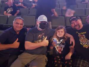 Rock attended Alice Cooper With Special Guest Ace Frehley on Oct 19th 2021 via VetTix