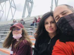 GoHokies attended Virginia Tech Hokies vs. Pittsburgh - NCAA Football on Oct 16th 2021 via VetTix