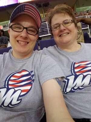 AzJimbo81 attended 2021 WNBA Finals Game 2 Phoenix Mercury vs. Chicago Sky on Oct 13th 2021 via VetTix